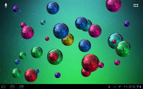 live wallpaper for pc bubbles space bubbles live wallpaper android apps on google play