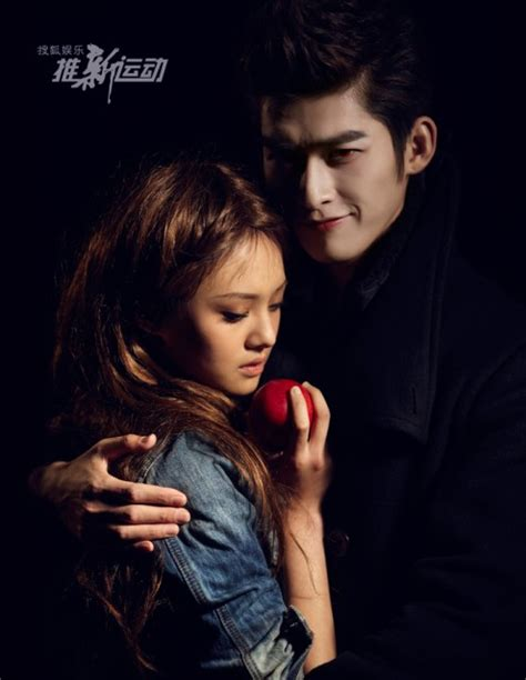 film drama zhang han zhang han and zheng shuang in twilight photoshoot silent
