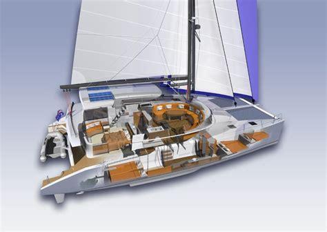 catamaran interior pics catamaran innovative design sailing nautical