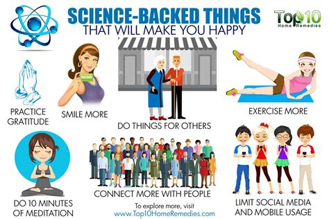 10 Things That Will Make You Happy by 10 Science Backed Things That Will Make You Happy Top 10
