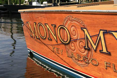 boat lettering in key largo mono myth key largo florida boat transom boats transom