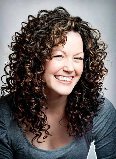 perms for long hair with bangs best 25 layered curly hairstyles ideas on pinterest
