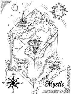 Historic Map of Mystic River & Mystic Bridge, CT - 1879