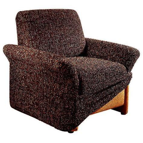 sofabezug mit ottomane stretchhusse braun husse stretch sesselhusse sofahusse