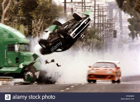 car crash fast and furious car crash the fast and the furious 2001 stock photo