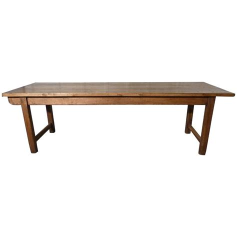 large pine farm table at 1stdibs large 19th century rustic pine table cleated 2 plank farmhouse top at 1stdibs