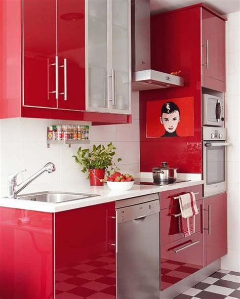 totally awesome red kitchen designs page