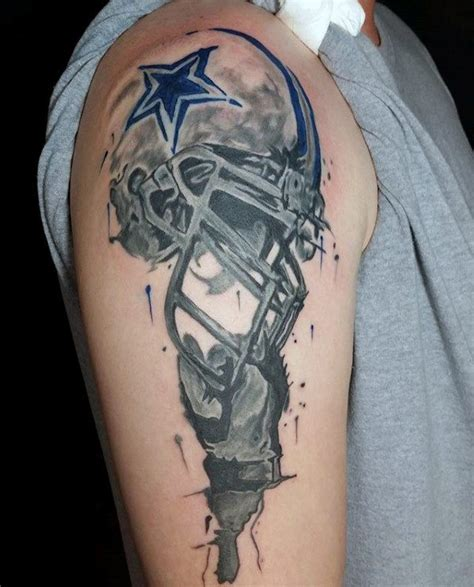 tattoos football designs 70 football tattoos for nfl ink design ideas