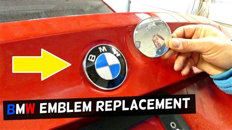 Bmw Emblem Replacement by Bmw E90 E46 E39 E60 E83 E65 Trunk Lid Emblem