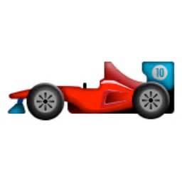 Car Lightning Cars Emoji Racing Car Emoji U 1f3ce