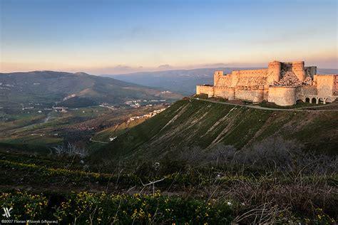 Krak Des Chevaliers by Krak Des Chevaliers Crusader Fortress In The Orient