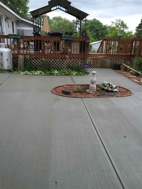 concrete patios we do concrete cheap raleigh durham nc