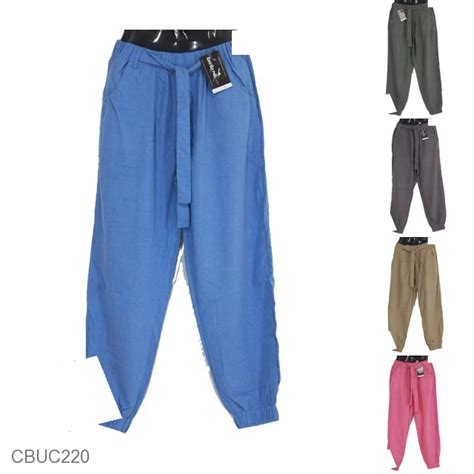 aladin katun celana aladin katun polos denim warna bawahan rok