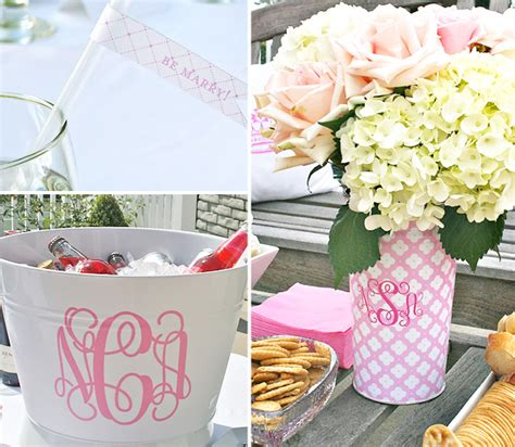 Hostess With The Mostess Bridal Shower by Eat Pink Be Married Bridal Shower Hostess With The