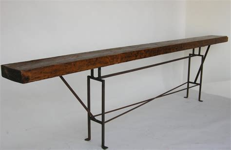 sofa table long long console table at 1stdibs