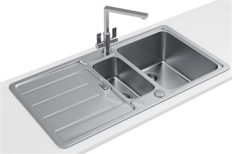 Franke Hydros HDX 654 Stainless Steel 1.5 Bowl Kitchen