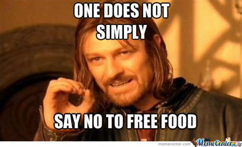 Free Food Meme - geek blog blogityheth