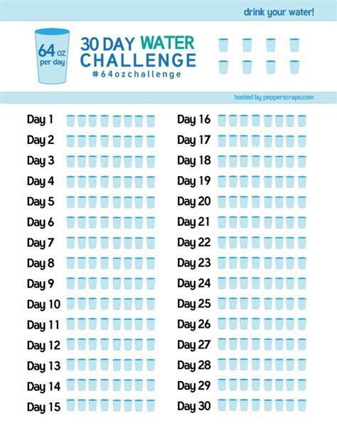 water challenge diet 30 day water challenge 64ozchallenge shakes for