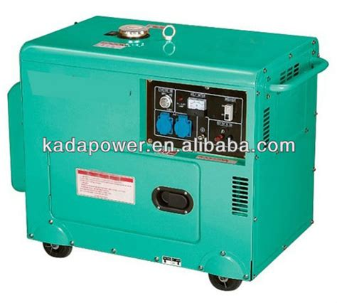 air cooled silent generator for home use 5kw diesel