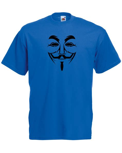 Tshirt Anonymous 02 fawkes v for vendetta anonymous graphic quality t