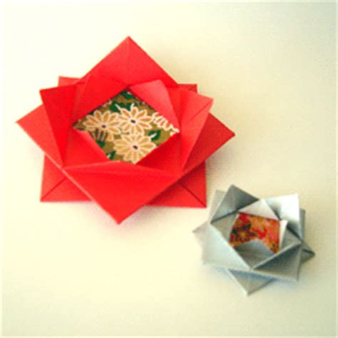 Origami Present Bow - origami