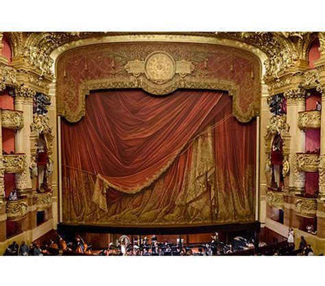 theater curtain names stage curtain track