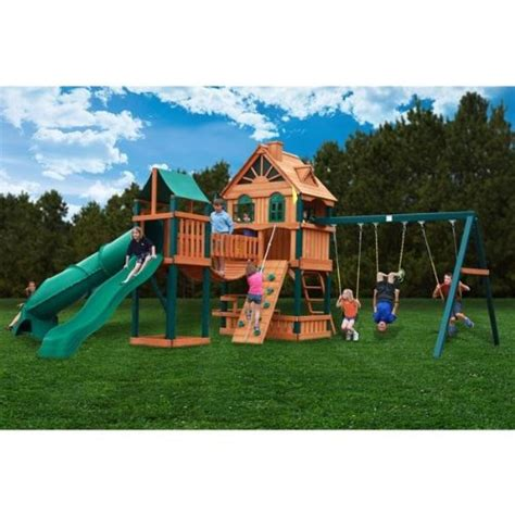 gorilla swing sets costco gorilla playsets blue ridge woodbridge playground