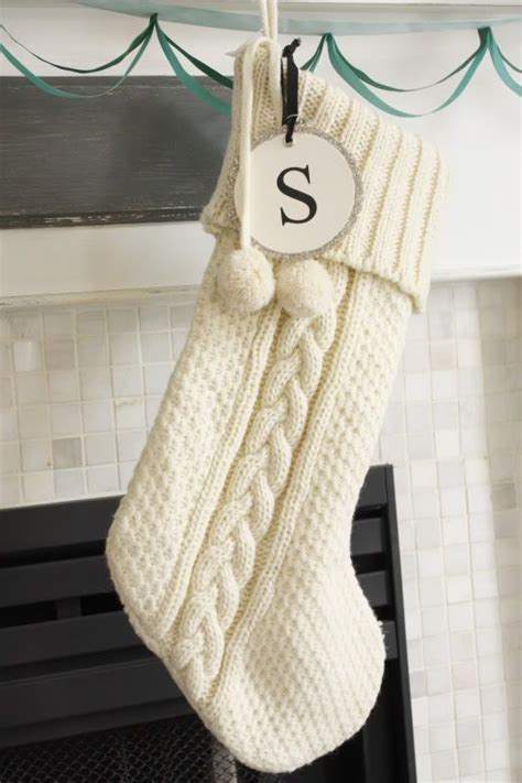 pattern knit christmas stocking this cable knit stocking is a fantastic christmas knitting