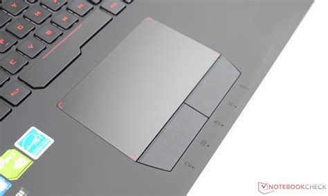 Touchpad Laptop Asus asus rog g752vs notebook review notebookcheck net reviews