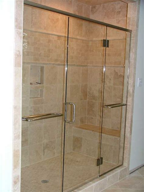 Showers With Glass Doors Bathroom Ideas