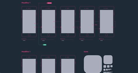 ux design templates 50 free wireframe templates for mobile web and ux design