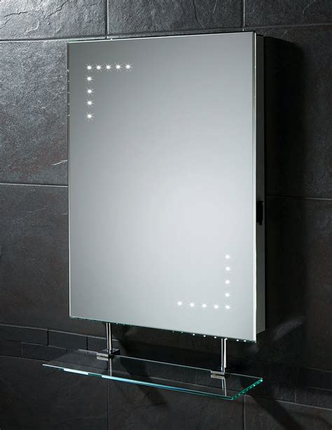 led bathroom mirror with shaver socket hib celeste led mirror with glass shelf and shaver socket
