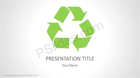 powerpoint templates recycling enviroment download tags free powerpoint slides
