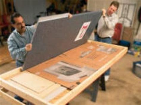 how install corian type solid surface countertops
