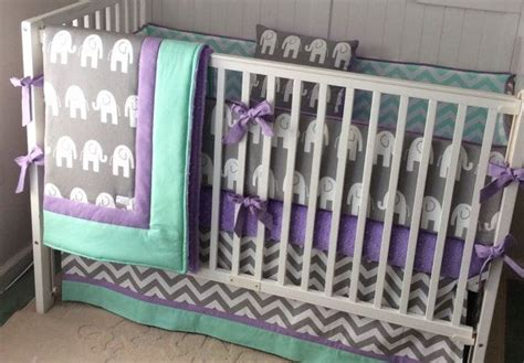 purple elephant crib bedding 17 best ideas about elephant crib bedding on pinterest