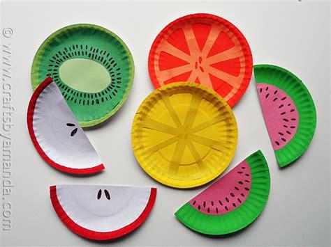 frutas con material reciclaje manualidades para ni 241 os 161 frutas coloridas pequeocio