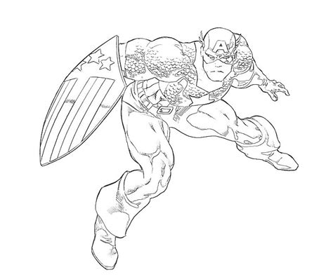 captain america shield coloring page the perfect defense