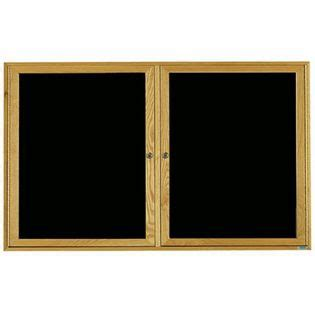 Aarco Odc3660 2 Door Enclosed Changeable Letter Board With