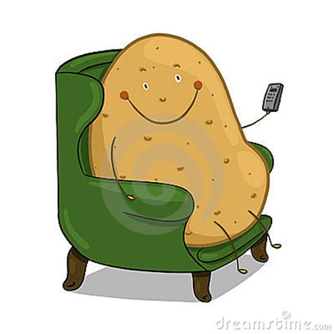 couch potato clipart couch potato illustration royalty free stock photography