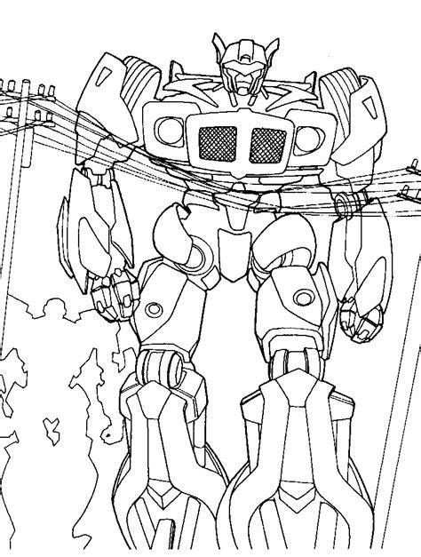 Coloring Page Transformers by Transformers Coloring Pages Coloringpages1001