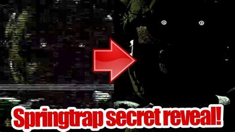 secret reveal trap secret reveal it s springs open five