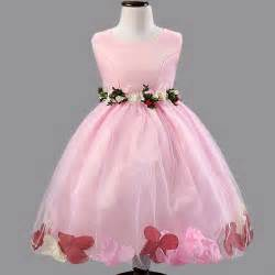 flower lace dresses children clothing kids dresses