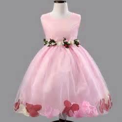 Girls Party Dress Flower Girl Wedding » Home Design 2017