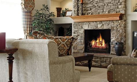 gas fireplace set napoleon fiberglow gl30ne vented gas log set fireplace
