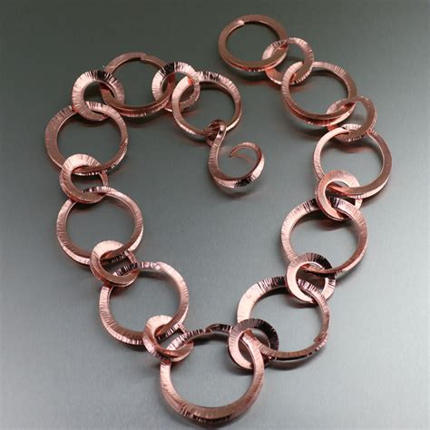 Designer Handmade Jewellery - unique handcrafted copper jewelry designs
