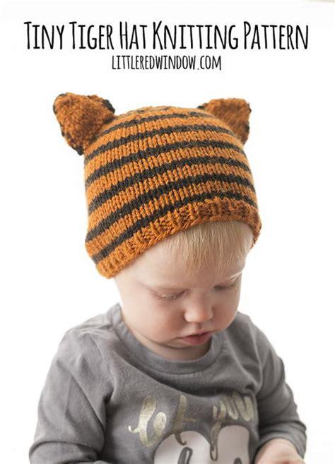 how to knit a tiny hat tiny tiger hat knitting pattern allfreeknitting