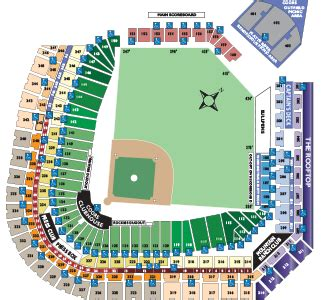 coors field seating chart baseball colorado rockies seating chart mini plans mlb