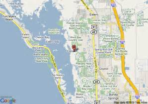 where is bonita springs florida on a map map of hyatt coconut plantation bonita springs