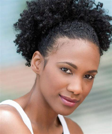 which hair style is suitable for curly hair medium height learn the puff hairstyle the easiest way possible black