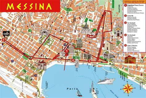 messina map an introduction to messina sicily